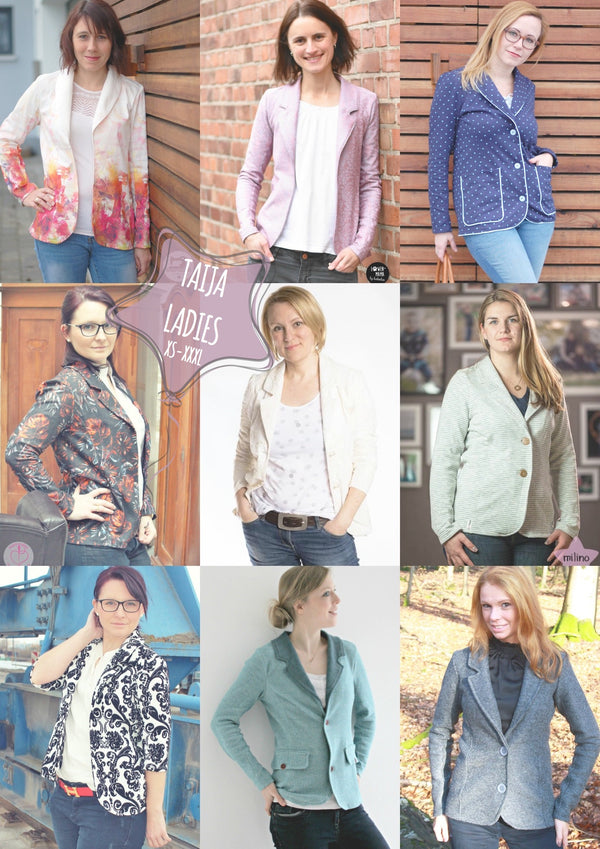 "eBook - ""Taija Ladies"" - Blazer - Sara & Julez - Glückpunkt. Shop"