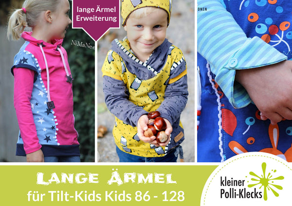 "eBook - ""Tilt - Ärmel"" - Shirt/Kleid -  Kleiner Polli-Klecks"