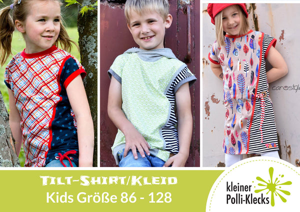"eBook - ""Tilt Kinder"" - Shirt/Kleid -  Kleiner Polli-Klecks"