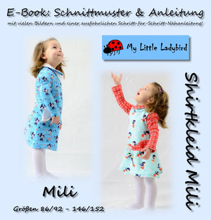 "eBook - ""Mili"" - Shirtkleid - My little Ladybird - Glückpunkt"
