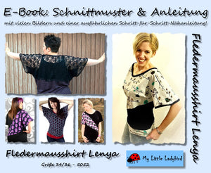 "eBook - ""Lenya"" - Fledermausshirt - My little Ladybird - Glückpunkt"