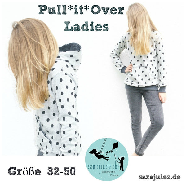 "eBook - ""Pull it over Ladies"" - Pullover - Sara & Julez - Glückpunkt."