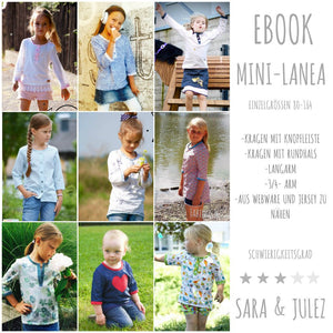 "eBook - ""Mini Lanea"" - Bluse - Sara & Julez"
