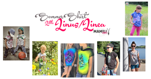 "eBook - ""Little Linus & Linea"" - Sommershirt - Mamili1910"