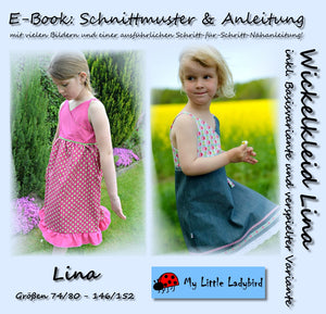 "eBook - ""Lina"" - Wickelkleid - My little Ladybird - Glückpunkt"