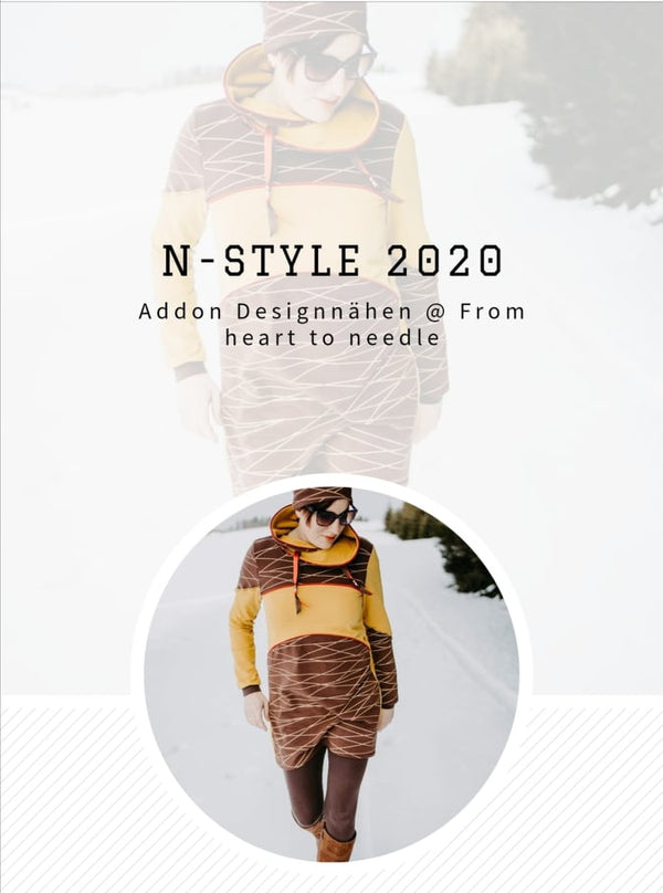 "e-Book - ""Addon für N-Style"" - Kragen/Ärmel  - From Heart to Needle"