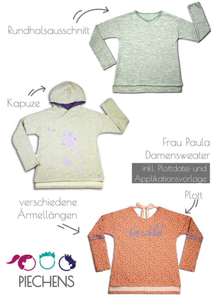 "eBook - ""Frau Paula"" - Sweater - Piechens"