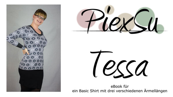 "eBook - ""Tessa"" - Top/T-Shirt - PiexSu - Glückpunkt."