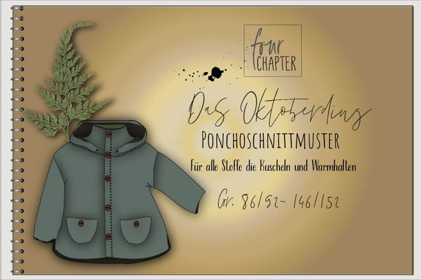 "eBook - ""Das Oktoberding"" - Jacke/Poncho - Four Chapter"