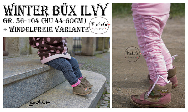 "eBook - ""Winter Büx Ilvy"" - Hose - Mahalu Design - Glückpunkt"