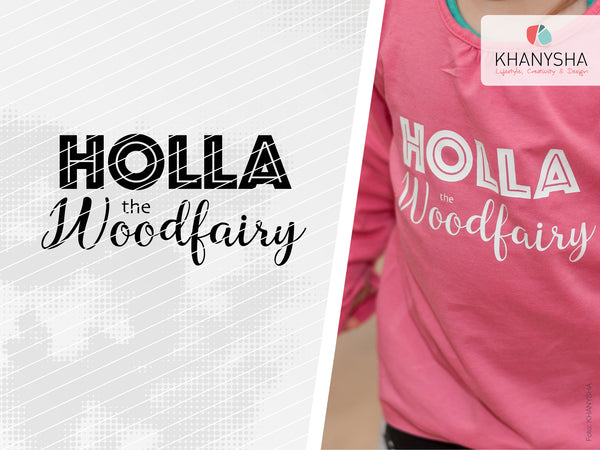 "Plotterdatei - ""Holla the woodfairy"" - Khanysha"