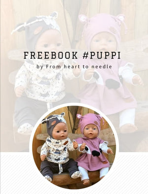 "e-Book - ""#Puppi"" - Freebook  - From Heart to Needle"
