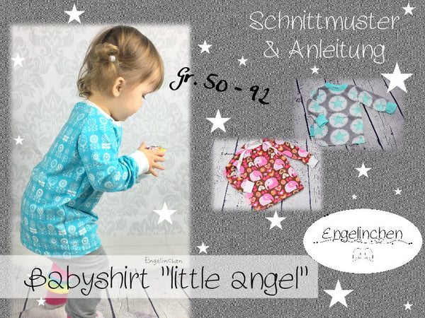 "eBook - ""Little Angel"" - Shirt -  Engelinchen Design"