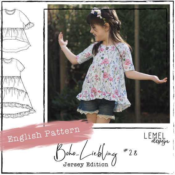 "eBook - ""Boho-Liebling #28"" - English Version - Lemel Design"