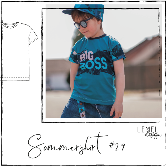 "eBook - ""Sommershirt #29"" - T-Shirt - Lemel Design"