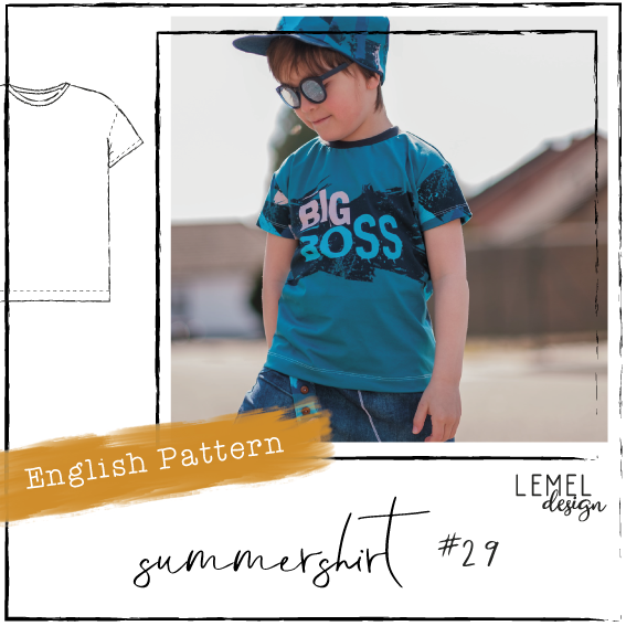 "eBook - ""Sommershirt #29"" - English Version - Lemel Design"