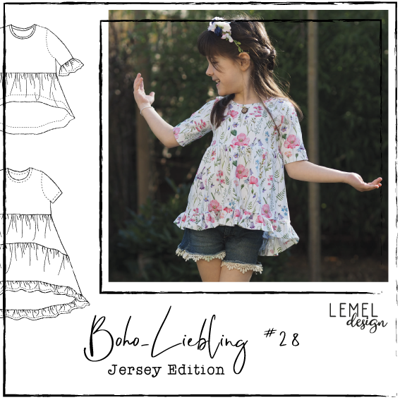 "eBook - ""Boho-Liebling #28"" - Tunika/Kleid - Lemel Design"