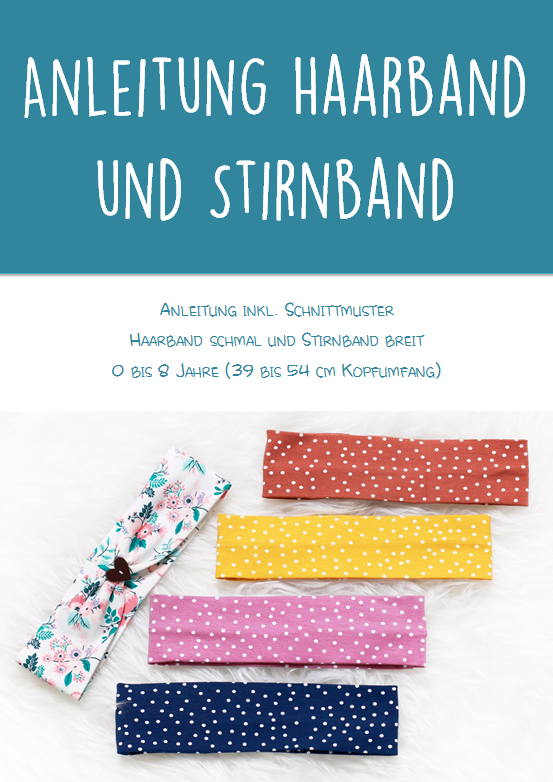 "Freebook - ""Haarband/Stirnband"" - Nealina"