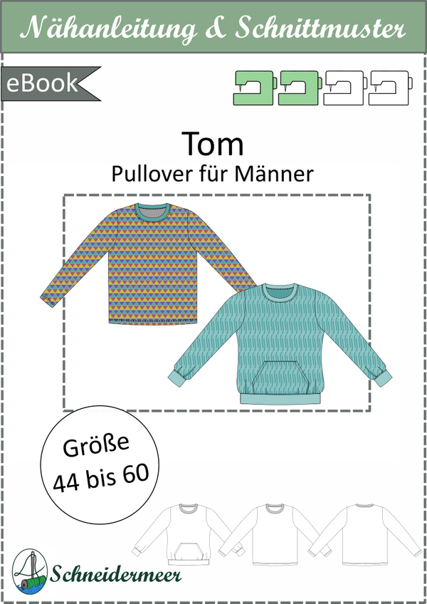 "eBook - ""Tom"" - Pullover - Schneidermeer"