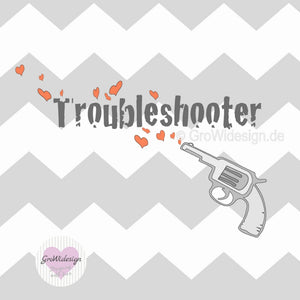 "Plotterdatei - ""Troubleshooter"" - GroWidesign - Glückpunkt."