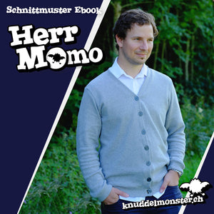 "eBook - ""Herr Momo"" - Cardigan - Knuddelmonster"