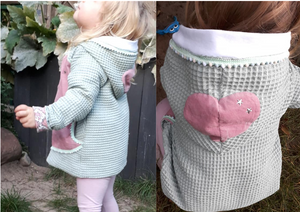 "eBook - ""Lovely Heart"" - Hoodie/Jacke - Rosalieb & Wildblau"