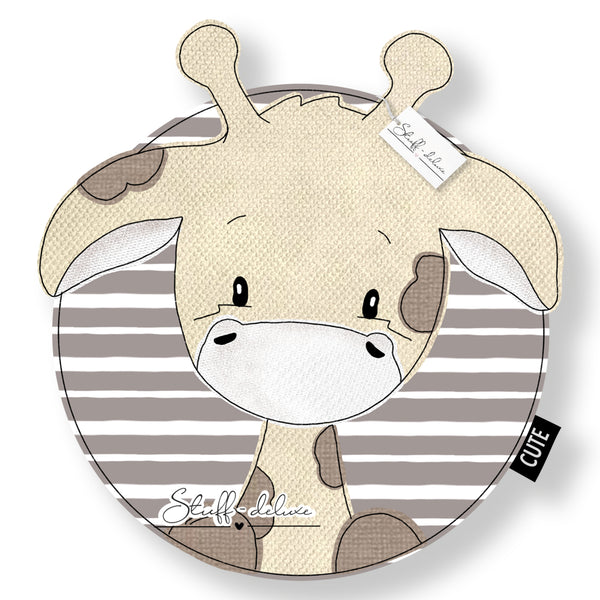 "Applikationsvorlage - ""Giraffe Gilbert Button"" - Stuff-Deluxe"