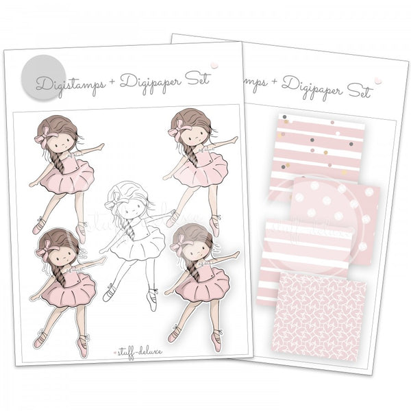 "DigiStamp - ""Ballerina Mia"" - Stuff-Deluxe"