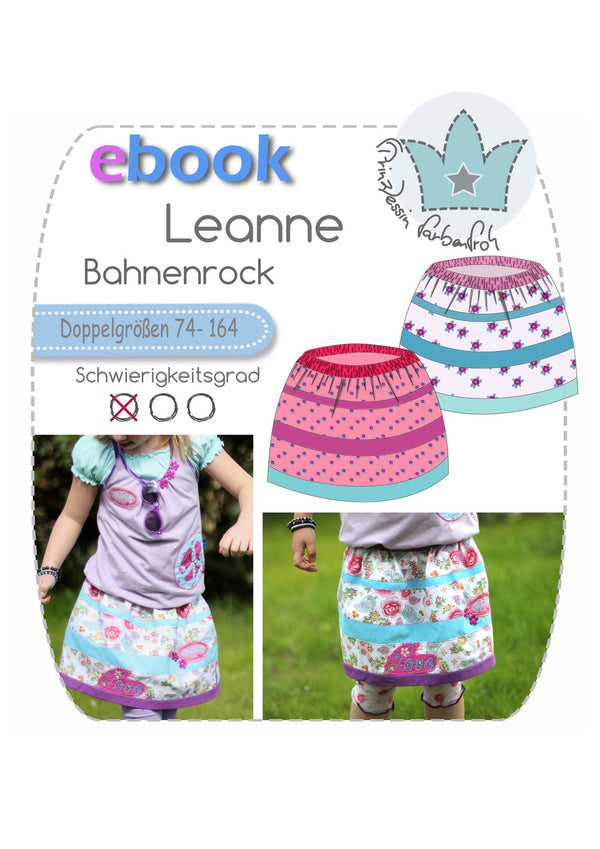 "eBook - ""Leanne"" - Rock - Prinzessin Farbenfroh"