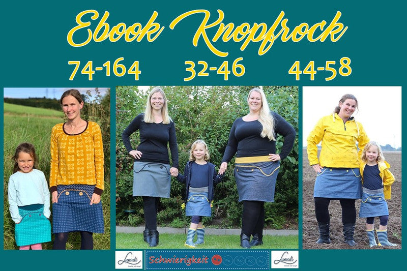Kombi-Knopfrock eBook -