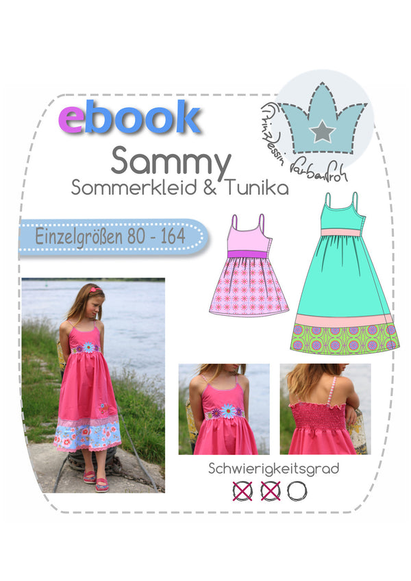 "eBook - ""Sammy"" - Kleid/Tunika - Prinzessin Farbenfroh"