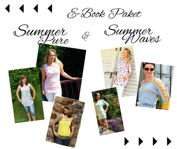 "Kombi-eBook - ""SummerPure & SummerWaves"" - Shirt - Mamili1910"
