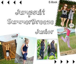 "eBook - ""Summer Breeze Junior"" - Jumpsuit - Jumper - Nähen - Damen - Mädchen - Mamili1910"