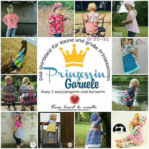 "eBook - ""Prinzessin Garnele"" - Kleid - Tunika - Shirt - From Heart to Needle"
