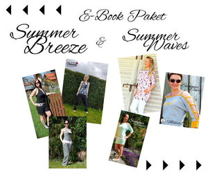 "eBook - ""Summer Breeze"" - Jumpsuit - Jumper - Shirt - Longshirt - Nähen - Damen - Mädchen - Mamili1910"