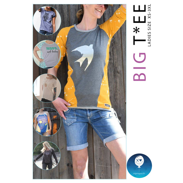 "eBook - ""Big Tee"" - Shirt -  NipNaps"