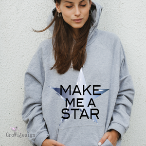 "Plotterdatei - ""Make me a Star"" - GroWidesign - Glückpunkt."