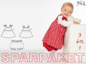 "Kombi-eBook - Hose & Tunika/Kleid ""Elisa & Lipsia"" - Pattern4kids"