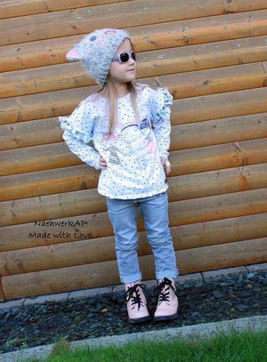"eBook - ""Maren Kids"" - Oversize Shirt- Sara & Julez"