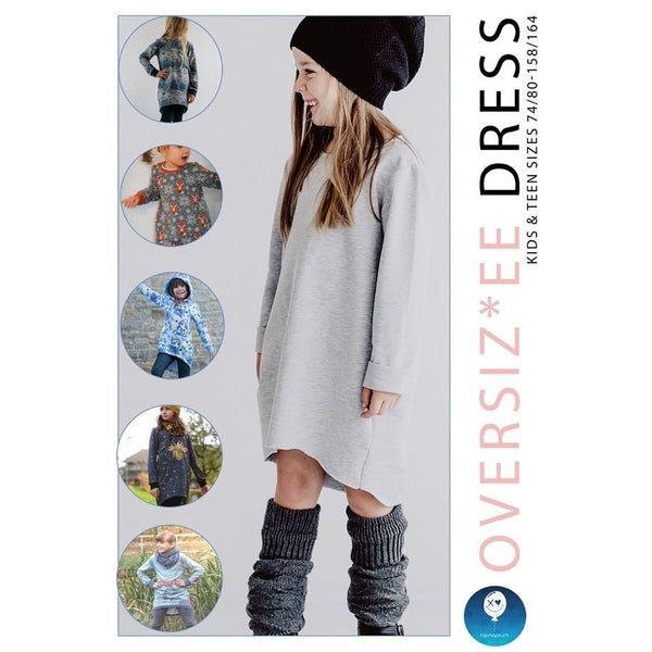 "eBook - ""OVERSIZ*EE DRESS"" - Kleid - NipNaps"