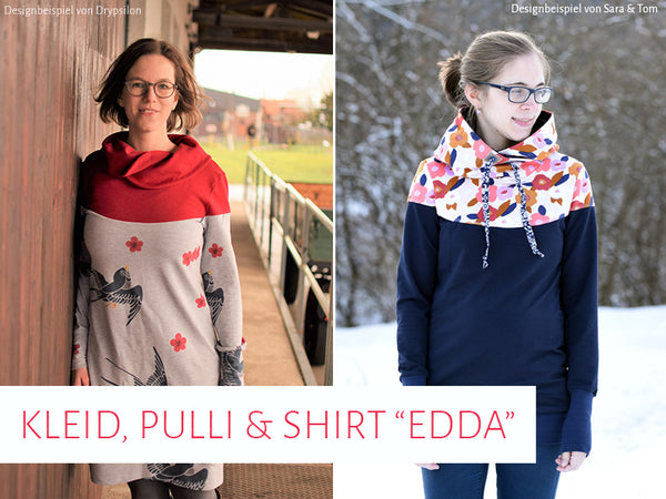 "eBook - ""Edda"" - Pullover/Shirt/Kleid - Kreativlabor Berlin"
