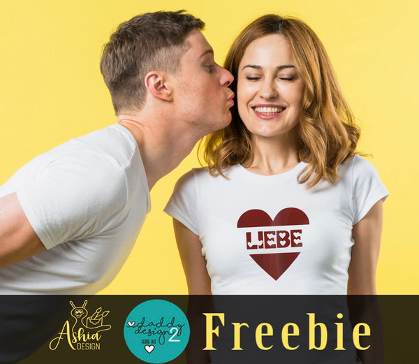 "Freebook-Plotterdatei - ""Liebe"" - Daddy2Design"