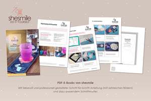 "eBook - ""Lieblingsplatz"" Glasuntersetzer -  Shesmile, Do it yourself"