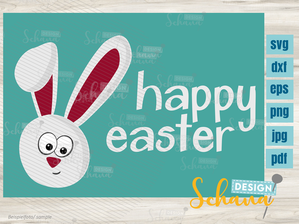 "Plotterdatei - ""Happy Easter"" - Schana Design"