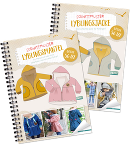 "Kombi-eBook - ""Lyblingsjacke & Mantel Kids"" - Gr. 56 - 122 - Lybstes"