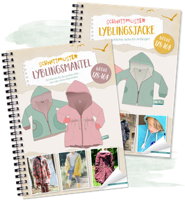"Kombi-eBook - ""Lyblingsjacke & Mantel Teens"" - Gr. 128 - 164 - Lybstes"