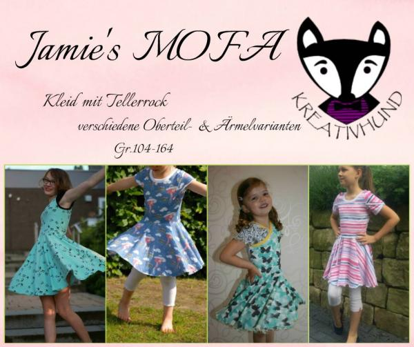"eBook - ""Jamies Mofa"" - Kleid - Kreativhund"