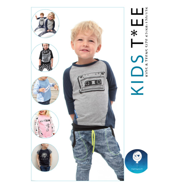 "eBook - ""Kids Tee"" - Shirt -  NipNaps"
