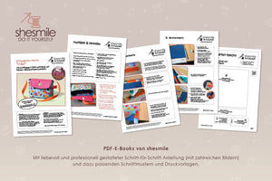 "eBook - Kindergarten-Tasche ""Milla"" - Shesmile, Do it yourself"