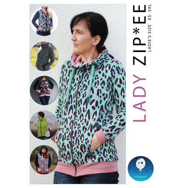 "eBook - ""Lady Zip*ee"" - Jacke - NipNaps"